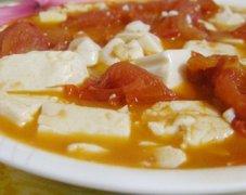 西红柿烧豆腐