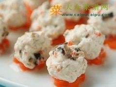 【新品】香菇胡萝卜鸡肉丸