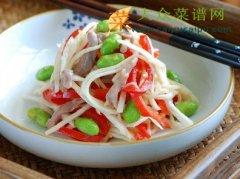 【新品】毛豆米茭白炒肉丝