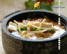 【新品】味噌虾仁豆腐锅
