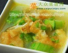 【新品】油条丝瓜汤