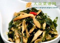 【新品】黄花菜伴海带