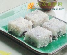 【新品】红豆椰奶凉糕