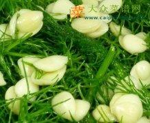 【新品】凉拌杏仁茴香草