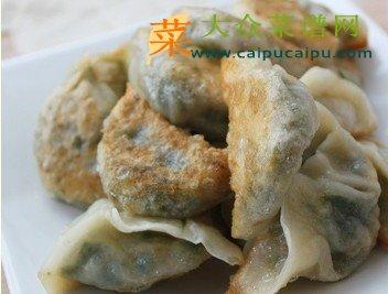 韭菜虾仁锅烙