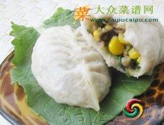 【新品】香菇油菜玉米包