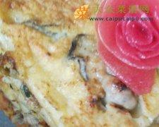 【新品】牡蛎豆腐煎蛋饼