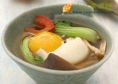 【新品】清淡蔬菜水波蛋