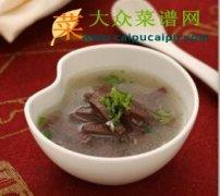 【新品】姜丝芹菜猪红汤