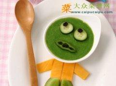 【新品】绿脸怪物鸡蛋羹