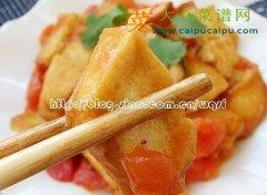 【新品】番茄脆皮豆腐