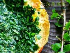 【新品】韭菜蛋饼