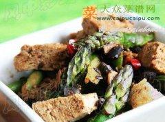 【新品】豉香芦笋冻豆腐