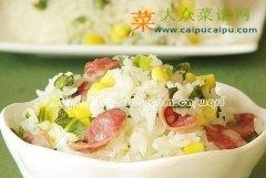 【新品】腊肠焖米饭