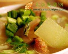 香菇冬瓜什锦汤