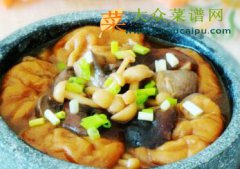 菌菇面筋锅