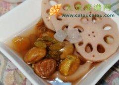 莲藕栗子汤
