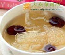 竹荪红枣汤